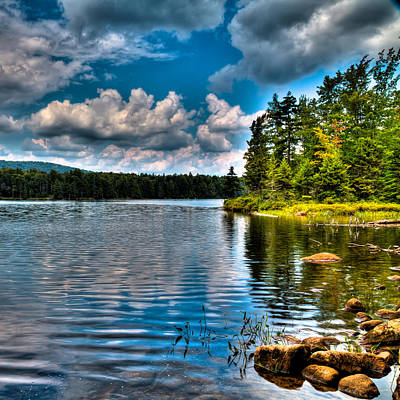Photograph - The Secluded Bubb Lake by David Patterson