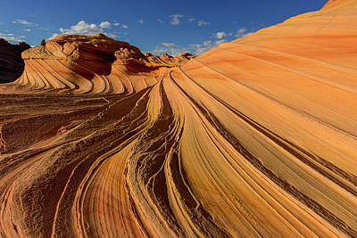 The Plateaus Photograph - The Second Wave In The Vermillion by Chuck Haney