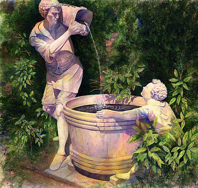 The Secret Fountain Original by Kristina Storey