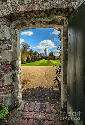 British Digital Art - The Secret Garden by Adrian Evans