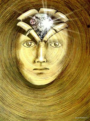 The Secret Of Existence Whereby We Were Created  Original by Paulo Zerbato