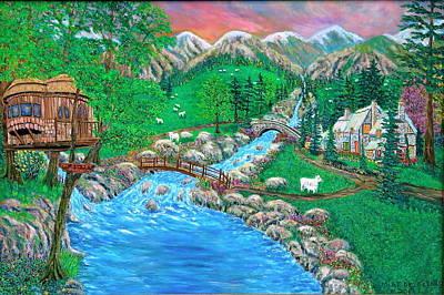 Painting - The Secret Place by Mike De Lorenzo