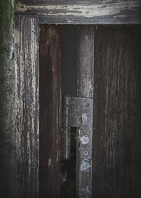 Old Door Photograph - The Secrets Slipped Out by Odd Jeppesen