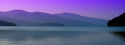 Photograph - The Selkirk Mountain Range - Priest Lake by David Patterson