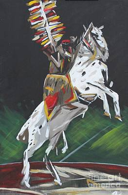 Painting - The Seminole by Steven Dopka