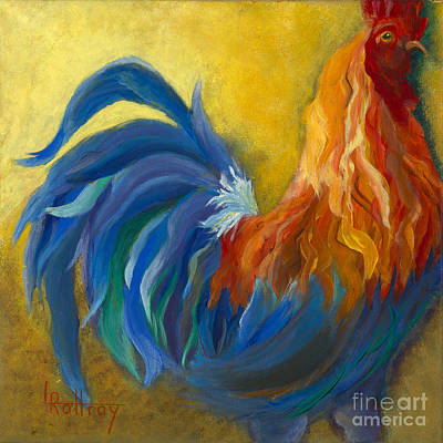 Rooster Painting - The Senator by Lynn Rattray
