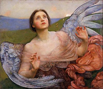Louisa Painting - The Sense Of Sight by Annie Louisa Swynnerton