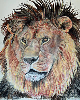 Pastel - The Sentinel by Ann Marie Chaffin