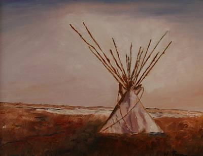 Painting - The Sentinel  by W William Brown Jr