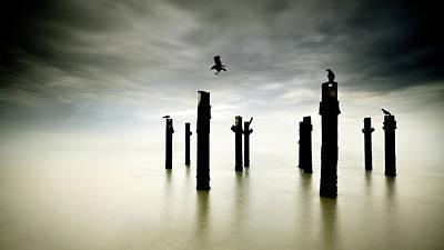 Lisbon Photograph - The Sentinels by Paulo Dias