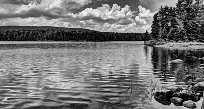 Photograph - The Serene Bubb Lake In The Adirondacks by David Patterson
