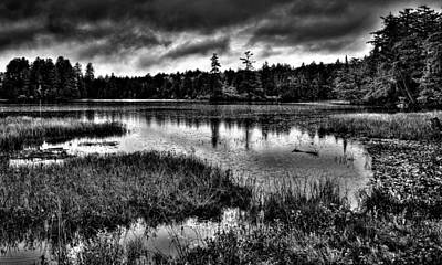 Photograph - The Serene Raquette Lake by David Patterson
