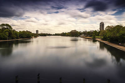 Photograph - The Serpentine - Hyde Park by Alfio Finocchiaro