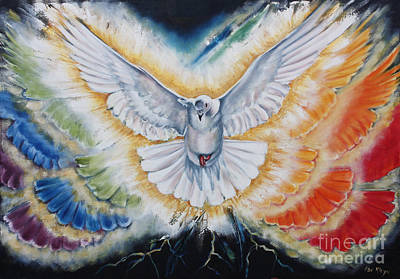 The Seven Spirits Series - The Spirit Of The Lord Original by Ilse Kleyn
