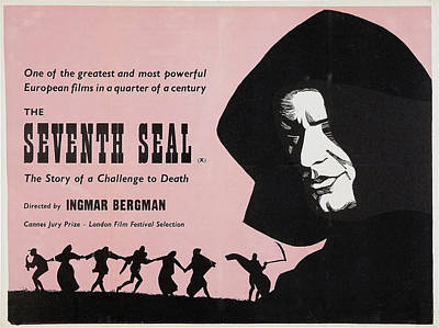 The Seventh Seal, Us Lobbycard, 1957 Art Print by Everett