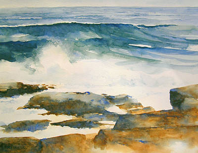 Painting - The Seventh Wave by William Beaupre