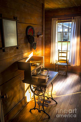 Frame House Photograph - The Sewing Room by Marvin Spates