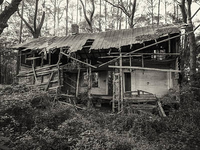 Photograph - The Shack by Cristel Mol-Dellepoort