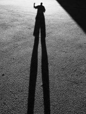 The Shadow No's Art Print