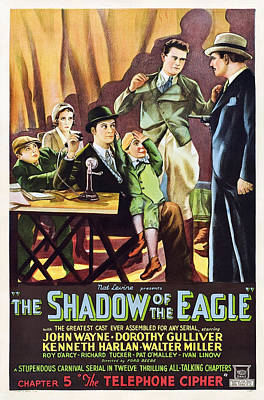 Little Wayne Photograph - The Shadow Of The Eagle, Little Billy by Everett