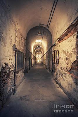 Eastern State Prison Wall Art - Photograph - The Shadowpath by Evelina Kremsdorf