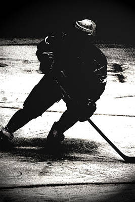 Photograph - The Shadows Of Hockey by Karol Livote