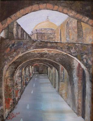 Painting - The Shadows Of San Jose' by Cheryl Damschen