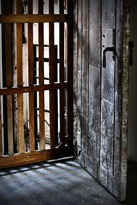Photograph - Shaft Doors by Nadalyn Larsen