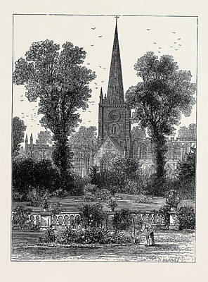 The Shakespeare Anniversary Celebration Stratford Church Art Print