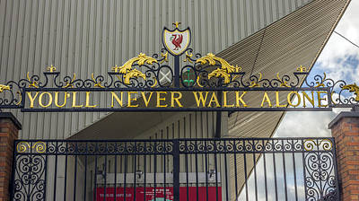 The Shankly Gates - Liverpool Fc Art Print by Paul Madden