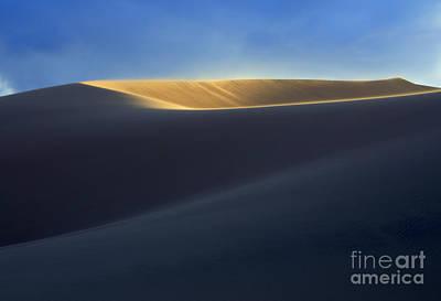 Amargosa Photograph - The Shape Of Light by Bob Christopher
