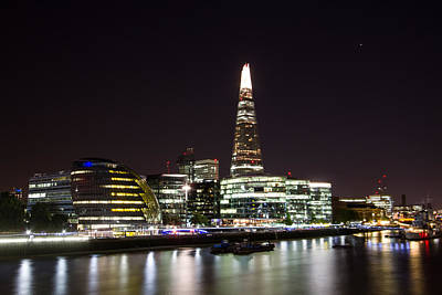 Photograph - The Shard And City Hall  by Wayne Molyneux