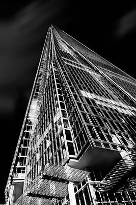 Of Glass Photograph - The Shard by Ian Hufton