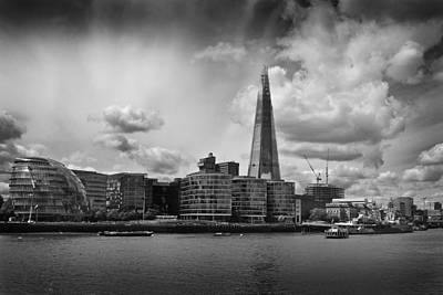 Photograph - The Shard London by Ed Pettitt