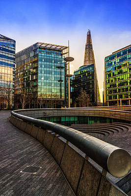 Skyscapers Photograph - The Shard London by Ian Hufton