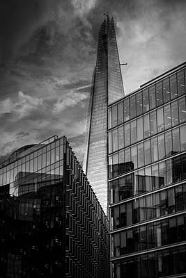 Abstract Skyline Rights Managed Images - The Shard London Royalty-Free Image by Martin Newman