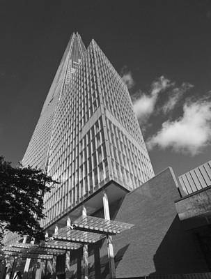 London Skyline Royalty-Free and Rights-Managed Images - The Shard London skyline BW by David French