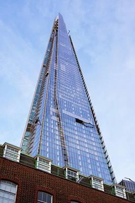 Renzo Piano Photograph - The Shard by Mark Williamson