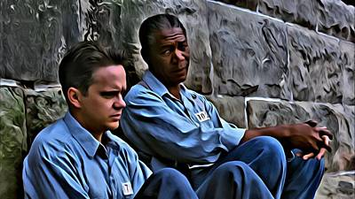 Painting - The Shawshank Redemption by Florian Rodarte