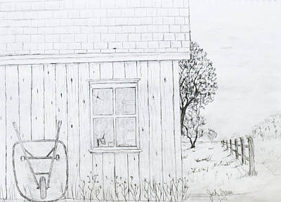The Shed Original by Jack G  Brauer