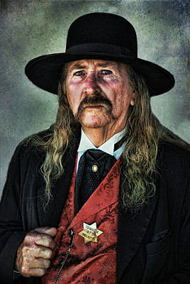Photograph - The Sheriff by Barbara Manis