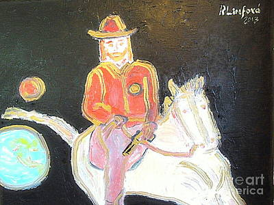 The Sheriff Is Coming 2 Original by Richard W Linford