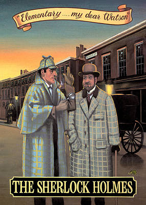 Painting - The Sherlock Holmes by Peter Green