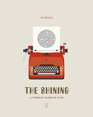 Kubrick Digital Art - The Shining by Smile In The  Mind