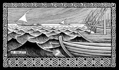 The Ships Of Tarshish Original by Guy Radcliffe