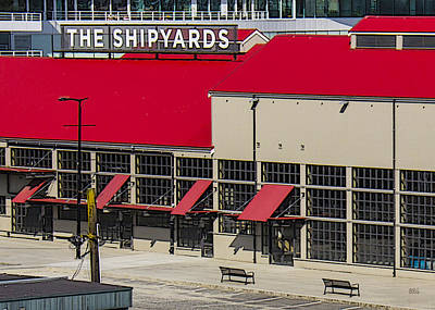Photograph - The Shipyards In Vancouver by Ben and Raisa Gertsberg