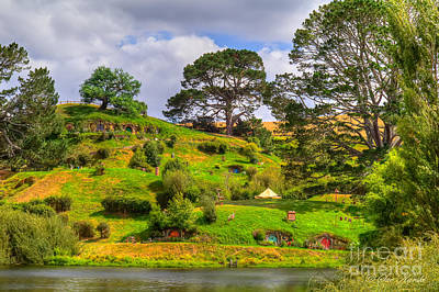 Photograph - The Shire And Bags End by Sue Karski