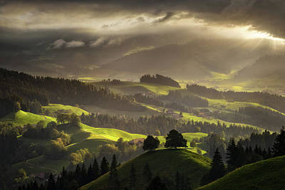 Switzerland Photograph - The Shire by Enrico Fossati
