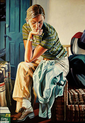 Figurative Painting - The Shirt by Kenneth Cobb
