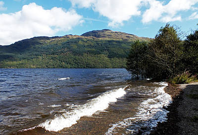 Cargo Boats - The Shore of Loch Lomond 2 by John Topman